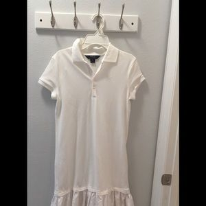 🌐NEW WITHOUT TAGS POLO RALPH LAUREN WHITE DRESS🌐